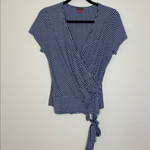 Vince Camuto Tie Front Top